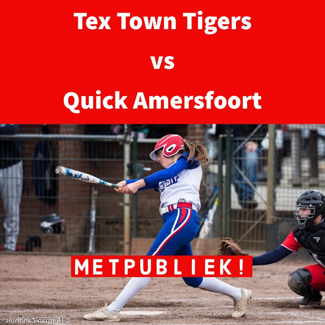 Wedstrijd Tex Town Tigers met publiek, 24 mei 2021 (test event)